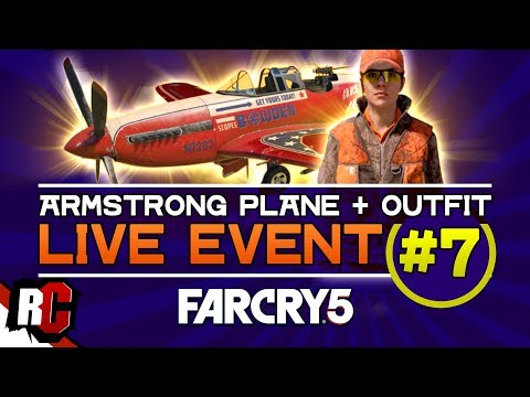 Far Cry 5 | Live Event #7 MAY 15 (Sniper Rifle from 160 meters / Armstrong Plane + Hunter Outfit) thumbnail