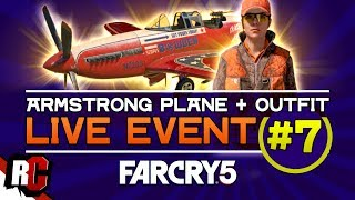 Far Cry 5 | Live Event #7 MAY 15 (Sniper Rifle from 160 meters / Armstrong Plane + Hunter Outfit)