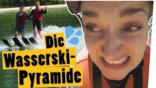 Challenge: Sei die Spitze einer Wasserski-Pyramide! || Das schaffst du nie!