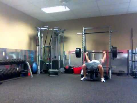 Bench Press Pull Up Superset Youtube