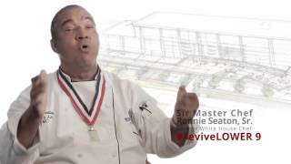 Ronnie Seaton claims to be a White House chef in PSA