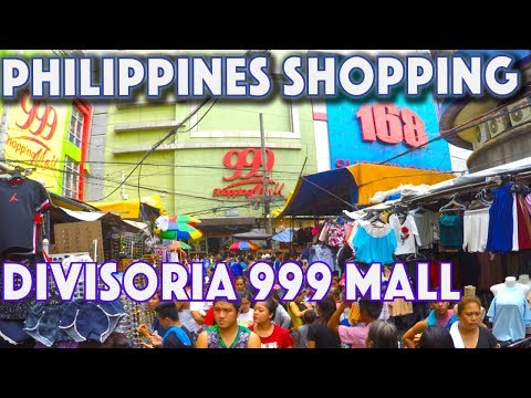 Cheapest Shopping in Manila  DIVISORIA | Waiting for Philipp