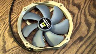 thermalright TY-140 900-1300RPM EHFB Fan Unboxing & Product Overview
