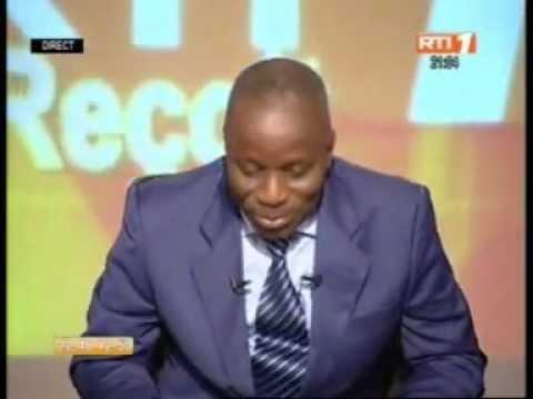 Le ministre de l'Enseignement technique, Albert Flindé invité de la RTI (1ere Partie)