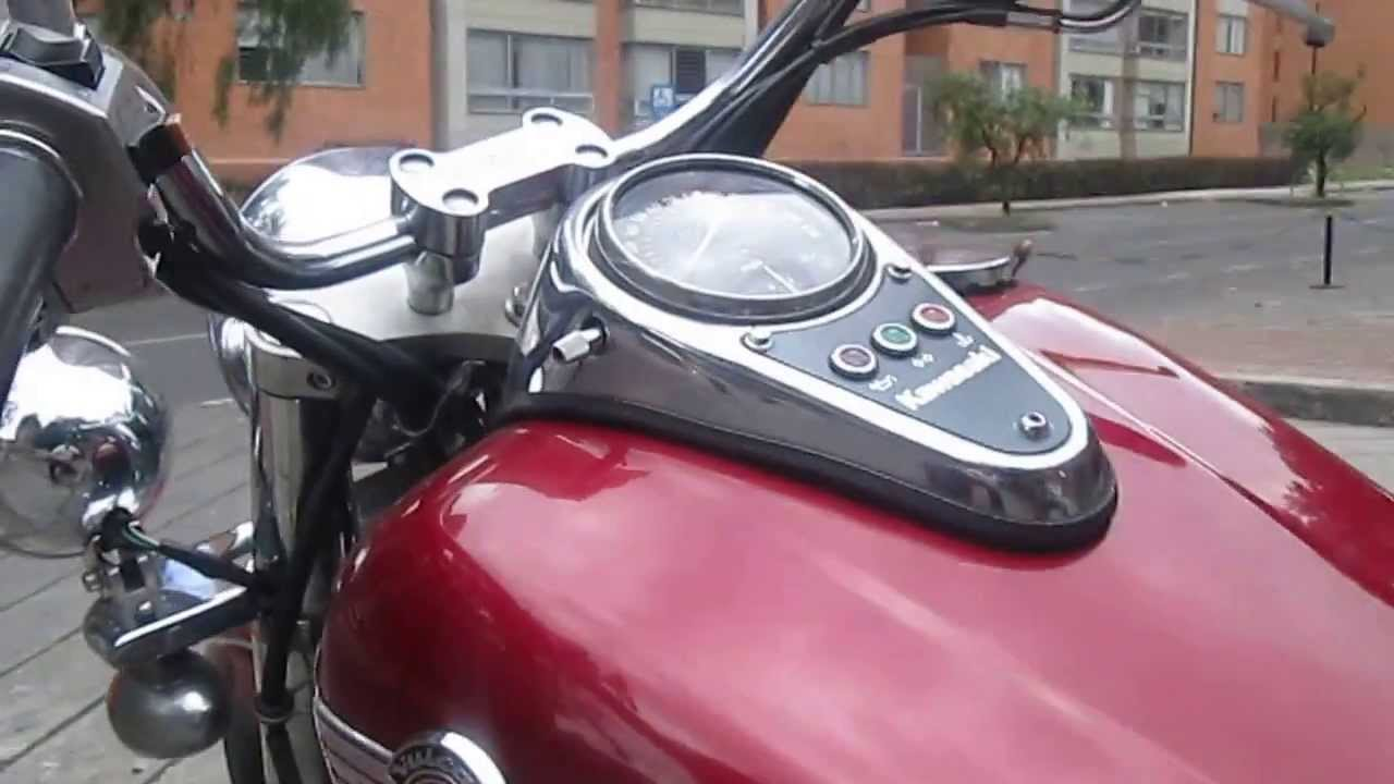 Vendo Moto Kawasaki Vulcan Vn 1500 Cc Youtube