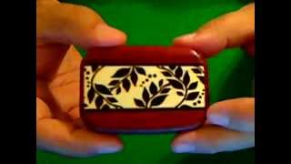 Wood Trick Opening Snuff Boxes. Puzzle Stash Box
