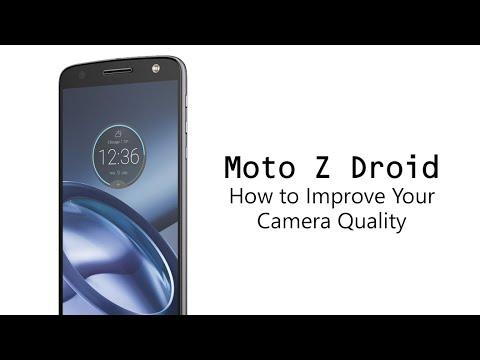how to improve moto z play camera