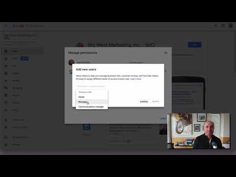 How To Change Ownership of Google My Business Account