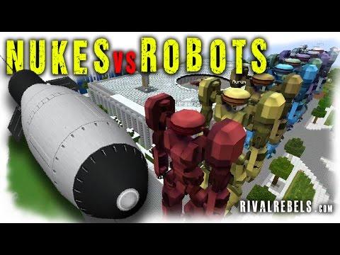 Tactical Nukes Vs Robots - Minecraft OP Mod