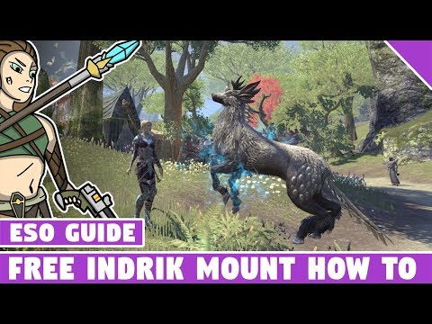 FREE Indrik Mount | How to get the free Indrik Mount in ESO! - YouTube