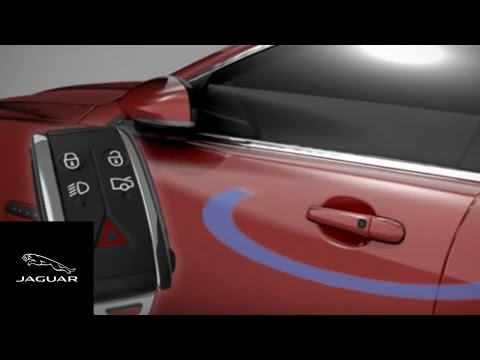 Jaguar XF 2012 - 2013 | Keyless Entry and Emergency Keyblade