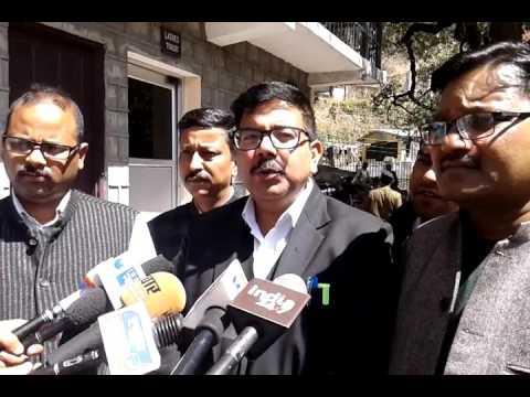 Advocates in Nainital High Court boycott of judicial work
