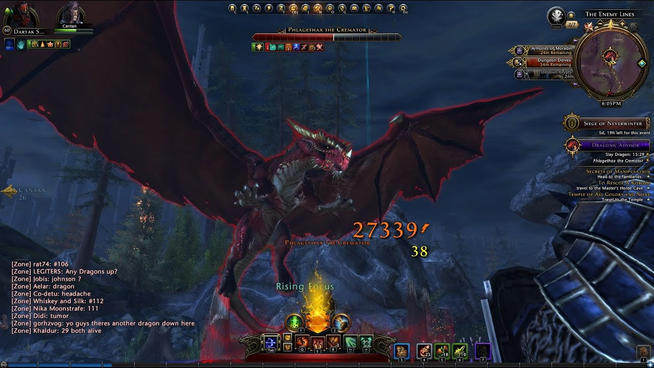 Red dragon - neverwinter tyranny of dragons - Siege of Neverwinter