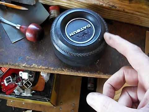 datsun 240z horn button refurb pt 1
