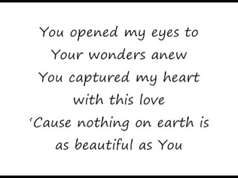 Beautiful One - Tim Hughes [lyrics]
