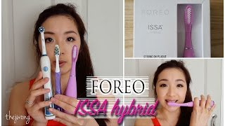 FOREO ISSA Hybrid! .. WORTH IT or NOT?? | Review & Comparison! | lifeofjodes