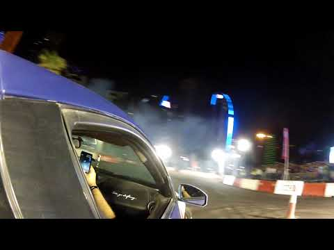 Co-pilot with ABDO FEGHALI at RedBull Car Park Drift Qatar