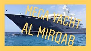Mega Yachts AL MIRQAB visit Ibiza & Formentera   YouTube