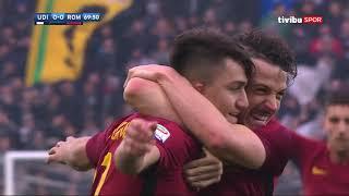 Serie A 25. hafta I Udinese 0-2 Roma Maç özeti