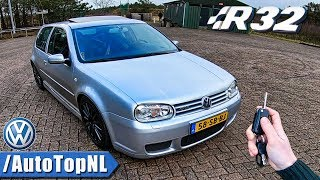 VW Golf MK4 R32 REVIEW POV Test Drive by AutoTopNL