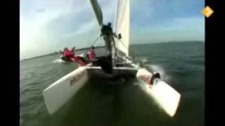 Het Klokhuis - Catamaranzeilen (2010-11-05)