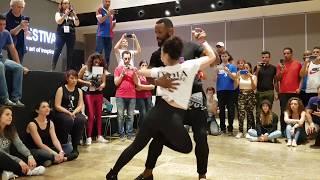 Tony Pirata & Lydia Laprade (2) @ Kizomba Open Festival 2018