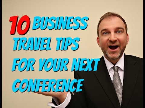 10 Business Travel Tips for Your Next Conference