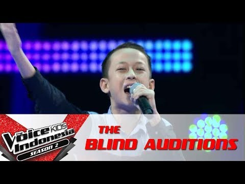 Adi Night Changes  The Blind Auditions  The Voice Kids Indonesia Season 2 GTV 2017