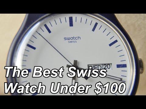 The Best Swiss Made Watch Under $100- Quartz Swatch Review