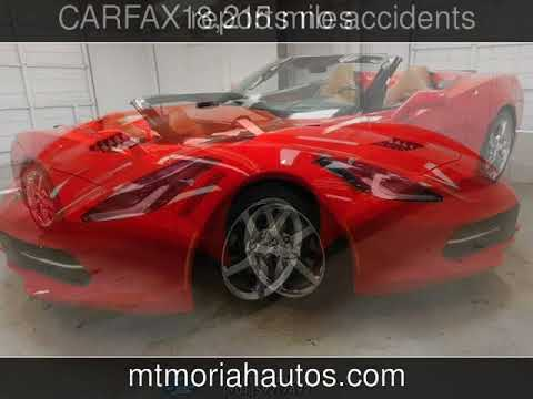 2014 Chevrolet Corvette Stingray 3LT Used Cars - Memphis,Tennessee - 2018-04-26