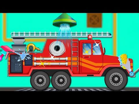 Ladder Truck Car Wash | Compilation Of Videos For Toddlers | Babies Show by Kids Channel