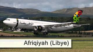 Compagnies aériennes desservant l'aéroport de Dakar.wmv