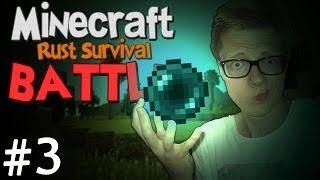 DOMME ACTIE! - Minecraft: Rust Survival Battle #3