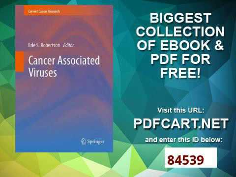 Cancer Associated Viruses Current Cancer Research