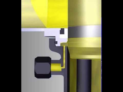 DELTA DE3 Double Seat Mix Proof Valve Flushing Lower Shaft Seal - SPX FLOW APV