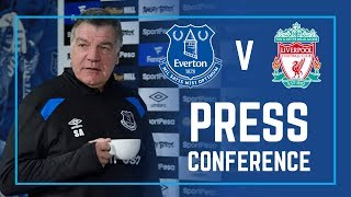 LIVE PRESS CONFERENCE: EVERTON V LIVERPOOL