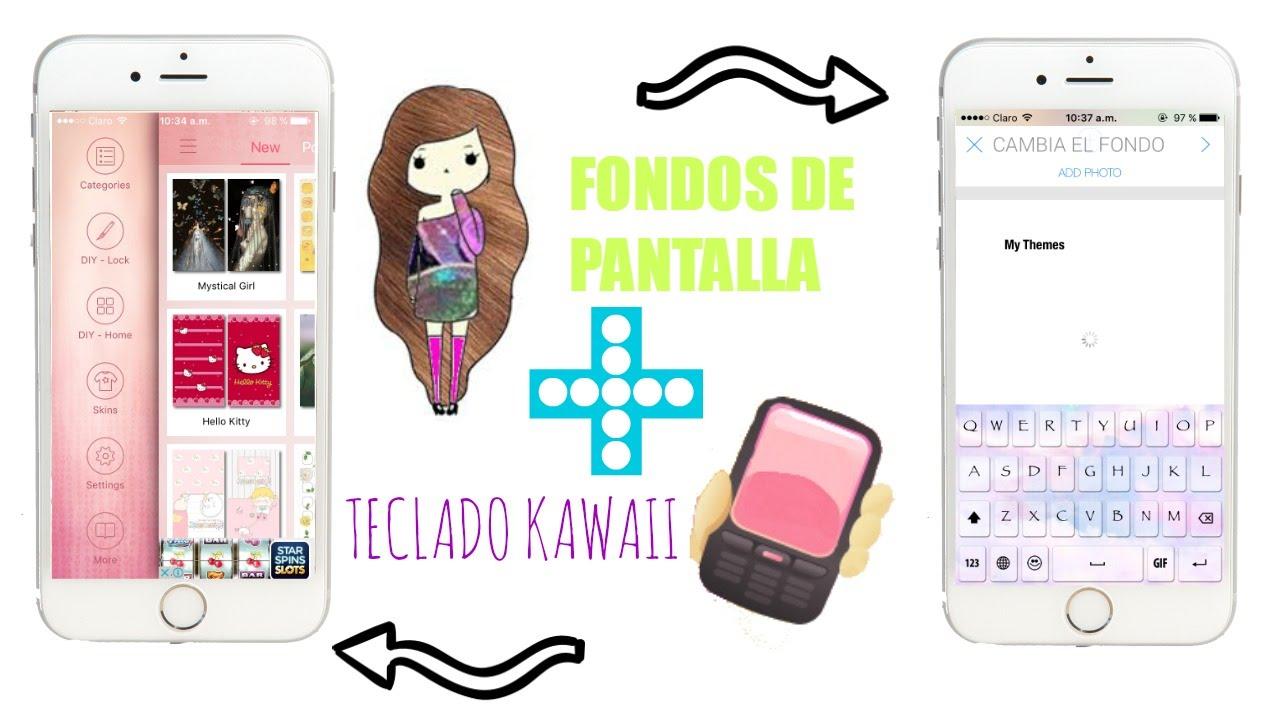 Fondos De Pantalla + Teclado Kawaii