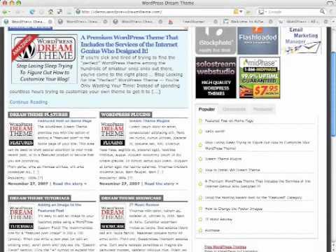 Dream-theme truly premium wordpress themes