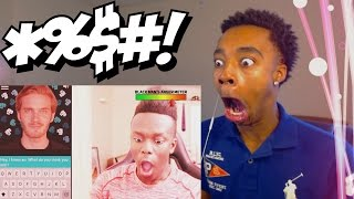 Flight Reacts To KSI Calling Out PEWDIEBOT For Being RACIST!