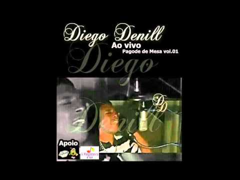Cd Completo Diego Denill ao vivo pagode de mesa   Radio A Pagodeira FM