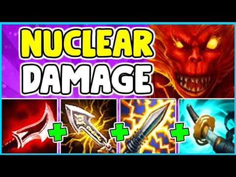 WTF!? NUCLEAR WUKONG ONESHOTS TARGETS IN 1 SECOND! 100% BROKEN BUILD (22 KILLS) - League Of Legends