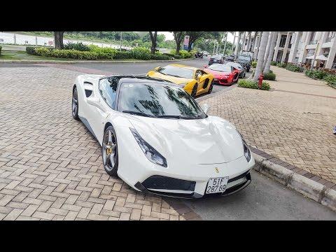 Cường Đô La cùng 5 chiếc Lamborghini đại náo Quận 7 | XSX