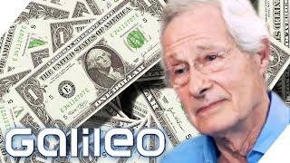 Der beste Geldfälscher?! Dieser Mann hat 16,5 Millionen Dollar gefälscht! | Galileo | ProSieben