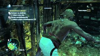 Assassins Creed IV Black Flag. Контракт на убийство 29. Большой Кайман. Логово контрабандистов.