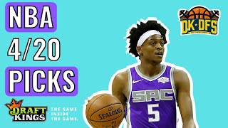 DRAFTKINGS NBA ANALYSIS (4/20/2021) | DAILY FANTASY PICKS
