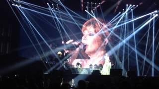 Mylene Farmer концерт в СПБ 2013, заключительная песня.