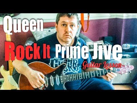 Rock It (Prime Jive) - Queen - Guitar Lesson