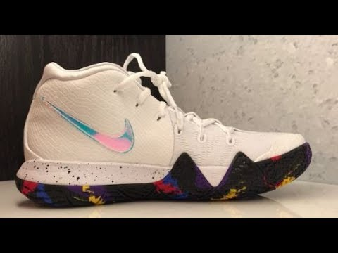 new product 4b21e 5865d NIKE KYRIE 4 MARCH MADNESS 'THE MOMENT' SNEAKER REVIEW
