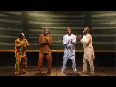 Butour Ngale - African polyrhythm demonstration