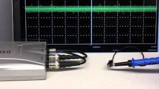Oscilloscopes - handling and accuracy
